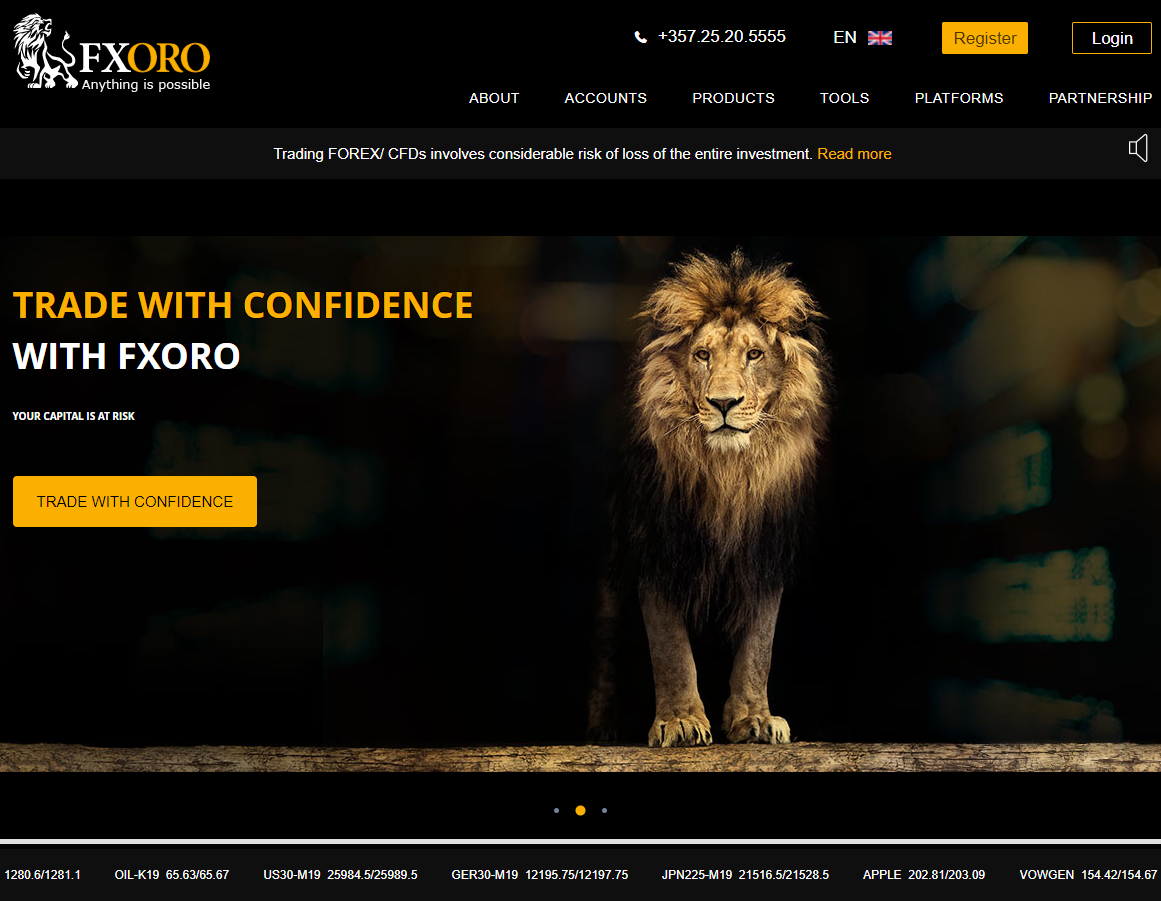 Easy and Profitable Forex Trading with FXORO