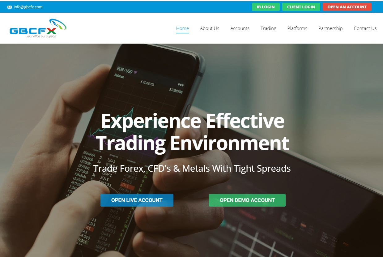 GBCFX Review – An Online Broker With Great Potential but Not So Great Service