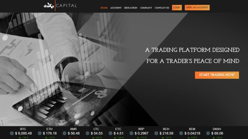 Duxa Capital – The Ideal Place to Trade