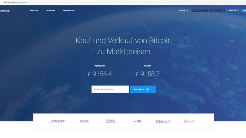 Coinmate: Ihre Lösung für den sicheren Handel mit Kryptowährungen