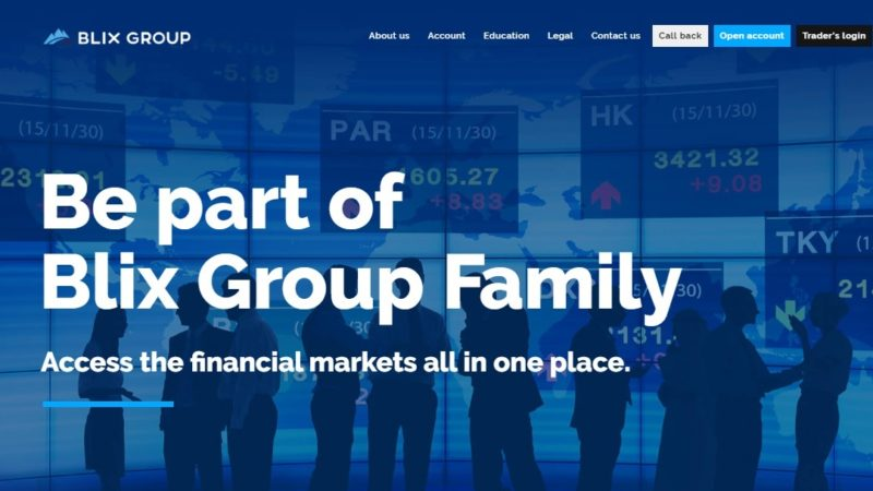 Blix Group – The Ideal Place to Trade
