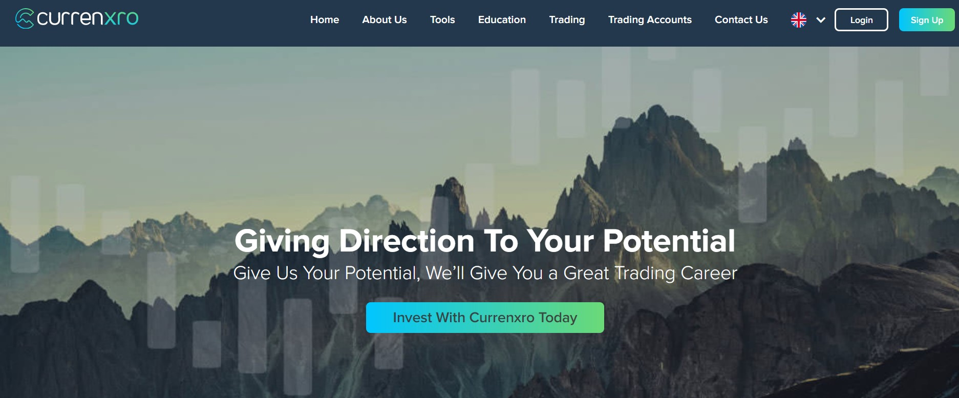 Currenxro website